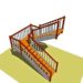 Types of stairs 3D